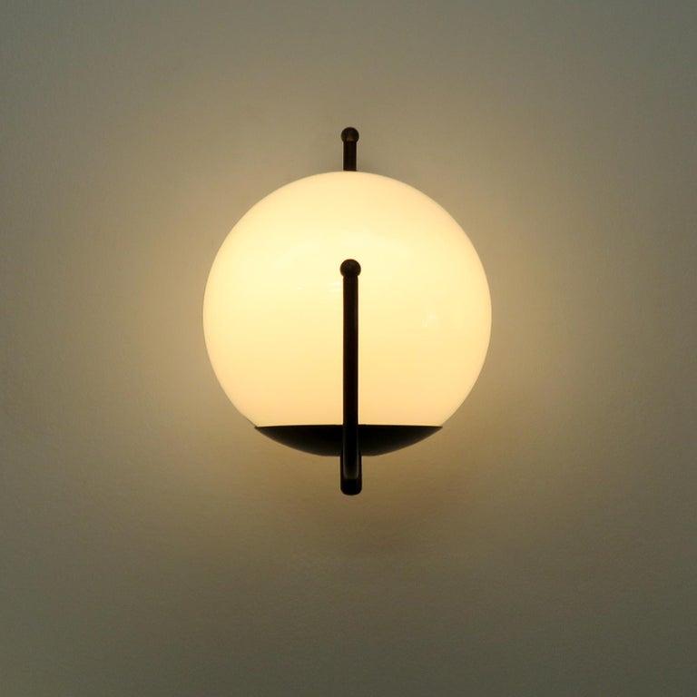Italian Globe Wall Lights For Sale 1
