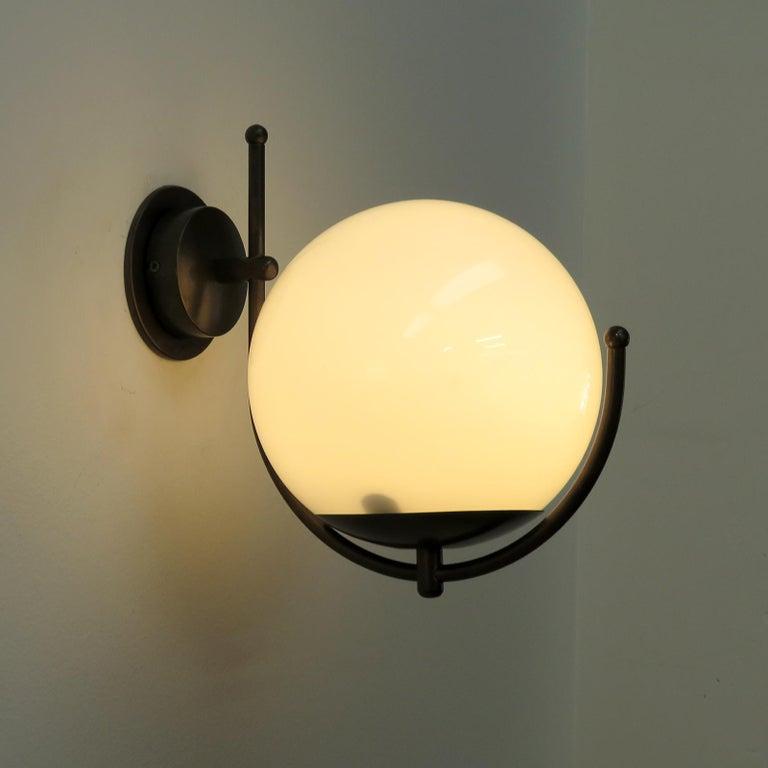 Italian Globe Wall Lights For Sale 2