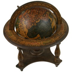 Italian Globe with Astrological Signs
