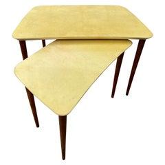 Italian Goat Skinned Tables