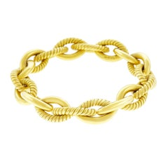 Italian Gold Link Bracelet