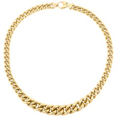Italian Gold Link Necklace
