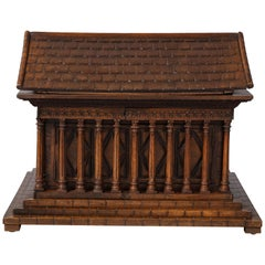 Italian Grand Tour Chest of Temple Form