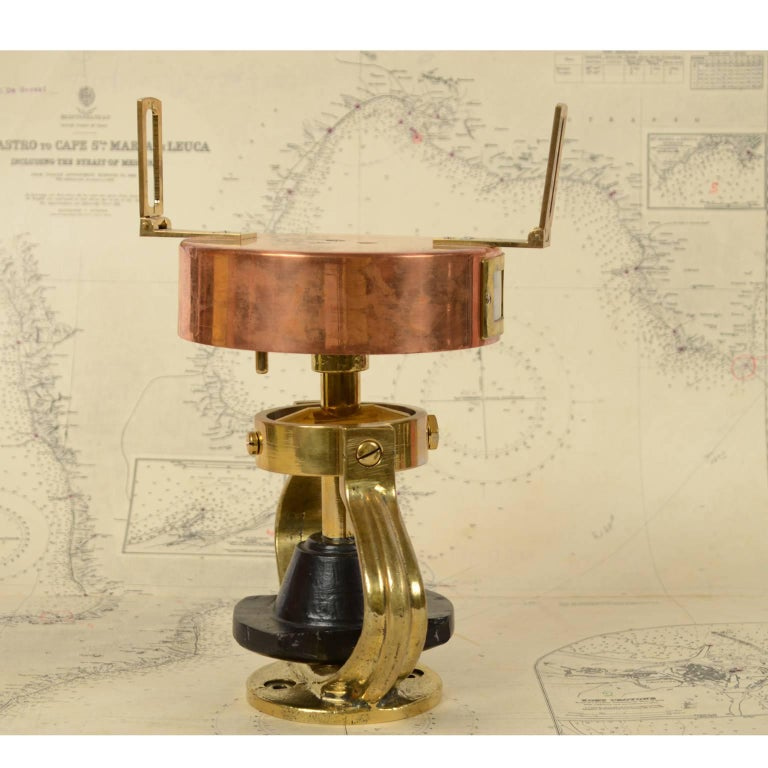 Italian Graphometer Complete with the Original Wooden Box For Sale 2
