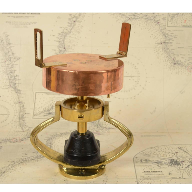 Italian Graphometer Complete with the Original Wooden Box For Sale 3