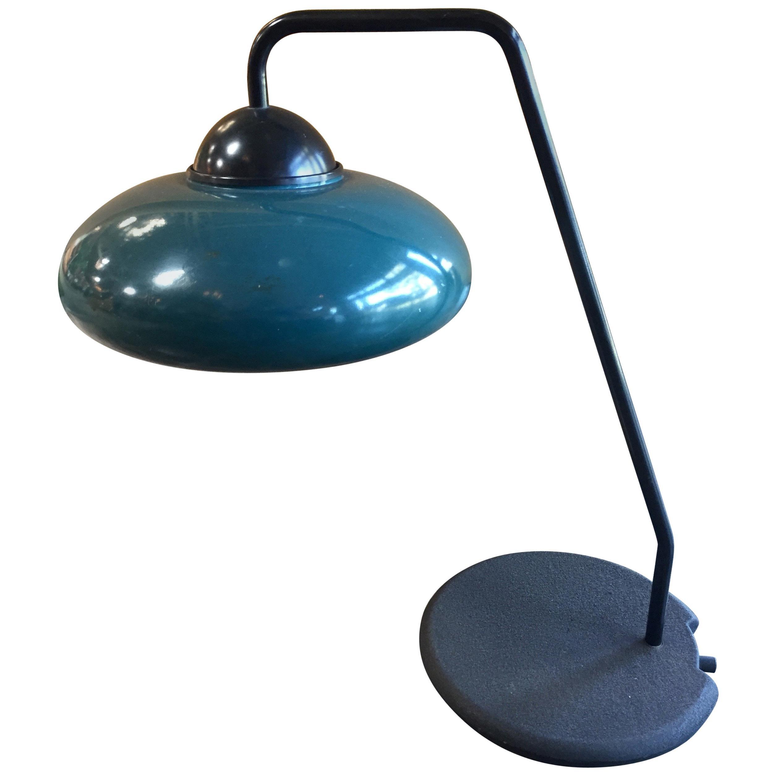 Italian Green Desk Lamp by Stilnovo, 1960s