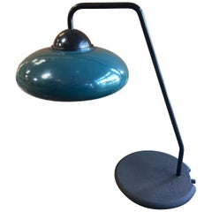 Italian Green Desk Lamp by Stilnovo, 1960s