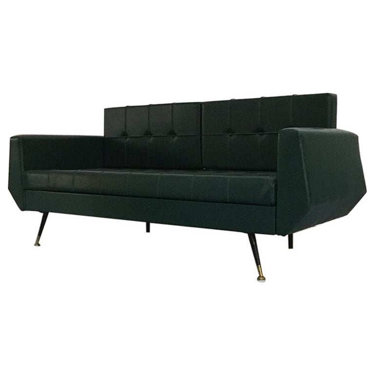 Br And Metal Rod Sofa Bed