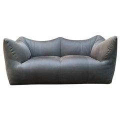 Italian Grey Fabric Le Bambole Sofa Designed by Mario Bellini for B&B, 1972