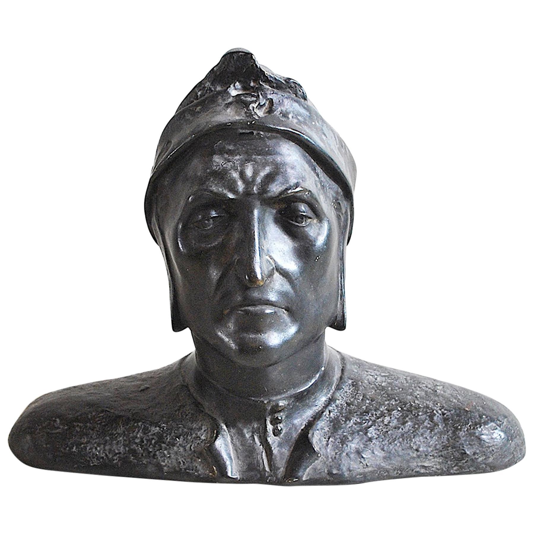 Italian Half Bust Dante Alighieri