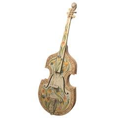 Italian Hand Painted Faince Pottery Cello