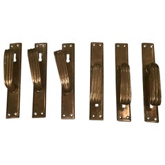 Italian Handles Brass 1950 Italy