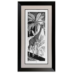 "Italian Handmade Limited Edition Print ""Black & Wild"" Collection"