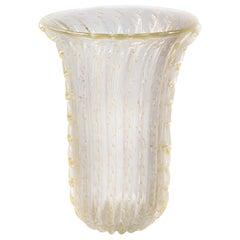 Italian Handmade Murano Glass Vase, circa 1990