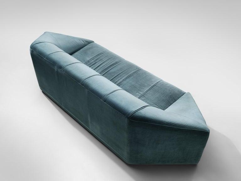 Italian Hexagonal Shaped Sofa For Sale 1