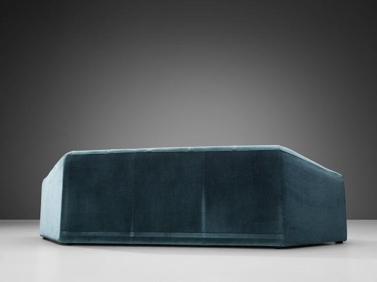 Italian Hexagonal Shaped Sofa For Sale 2