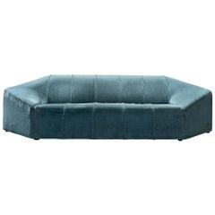 Italian Hexagonal Shaped Sofa