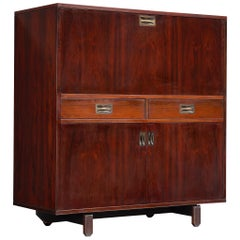 Italian Highboard in Rosewood by Stildomus, Italy, 1950s