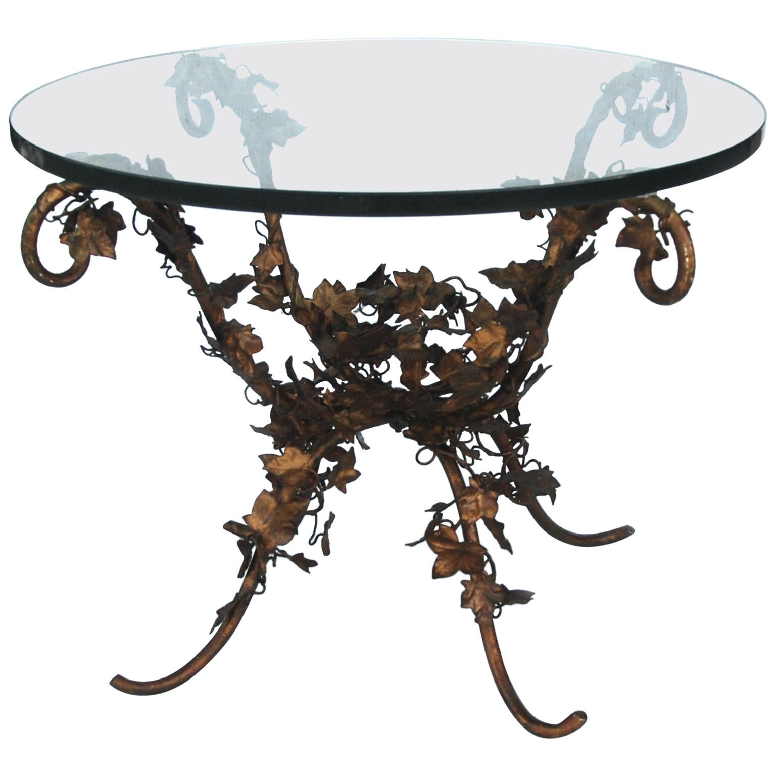 Italian Hollywood Regency Coffee Table