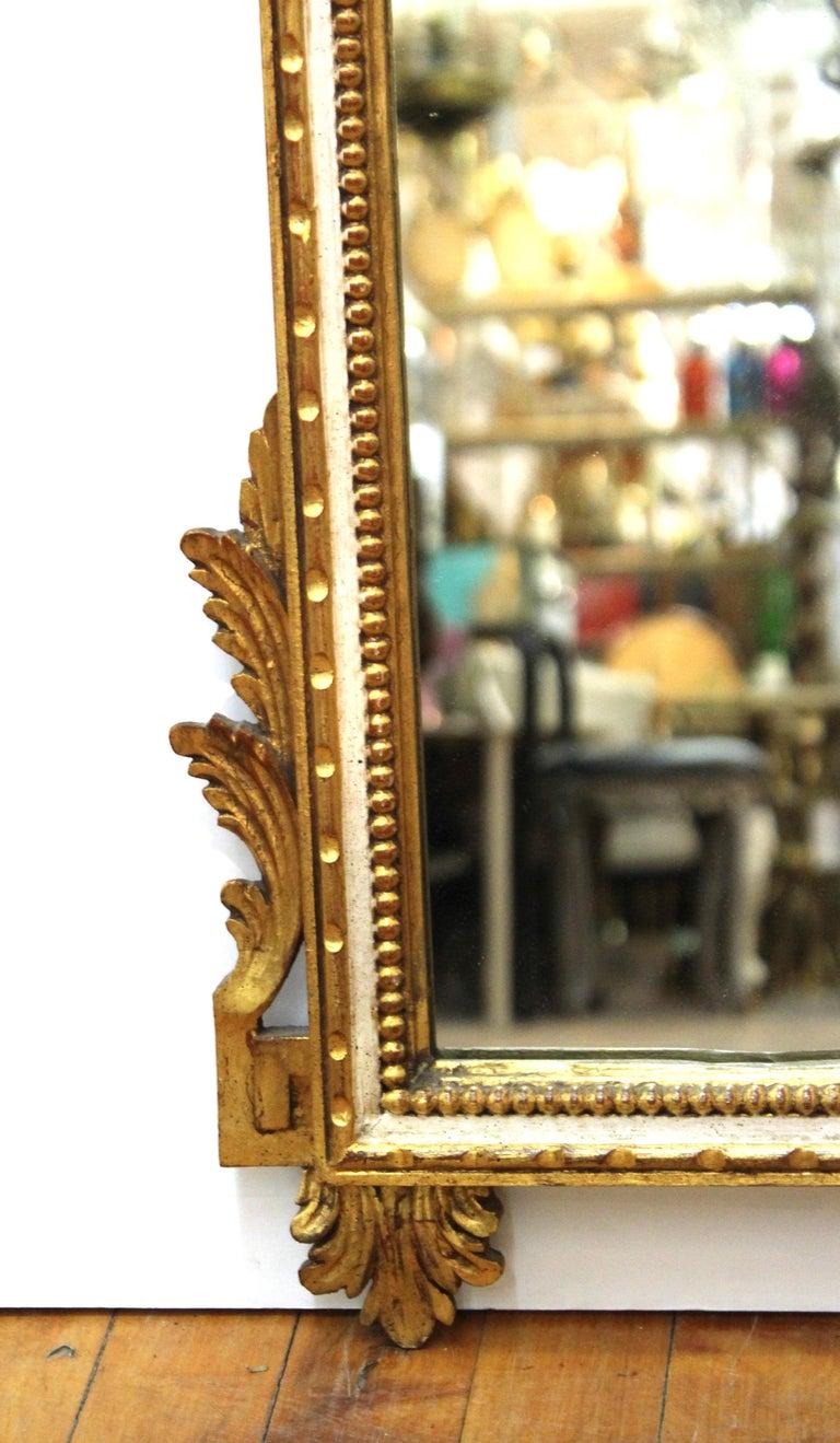 Italian Hollywood Regency Gilt Wall Mirror For Sale 1