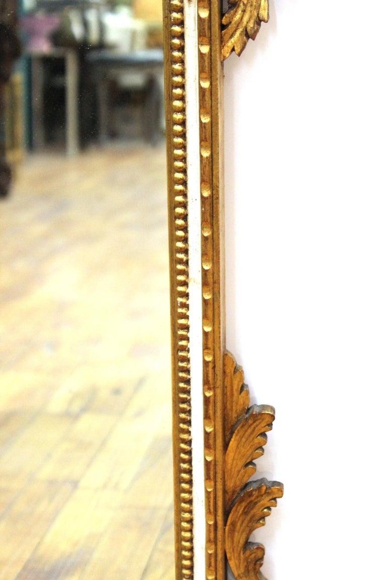 Italian Hollywood Regency Gilt Wall Mirror For Sale 2