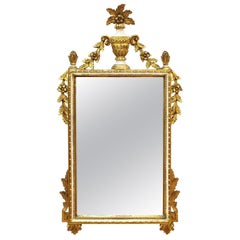 Italian Hollywood Regency Gilt Wall Mirror