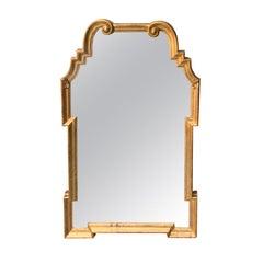 Italian Hollywood Regency Giltwood Mirror Attributed to La Barge, circa 1960s