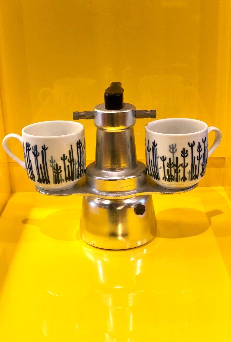 Italian Industrial Design Espresso Machine Stove Top ...