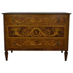 Italian Inlaid Chest of Drawers