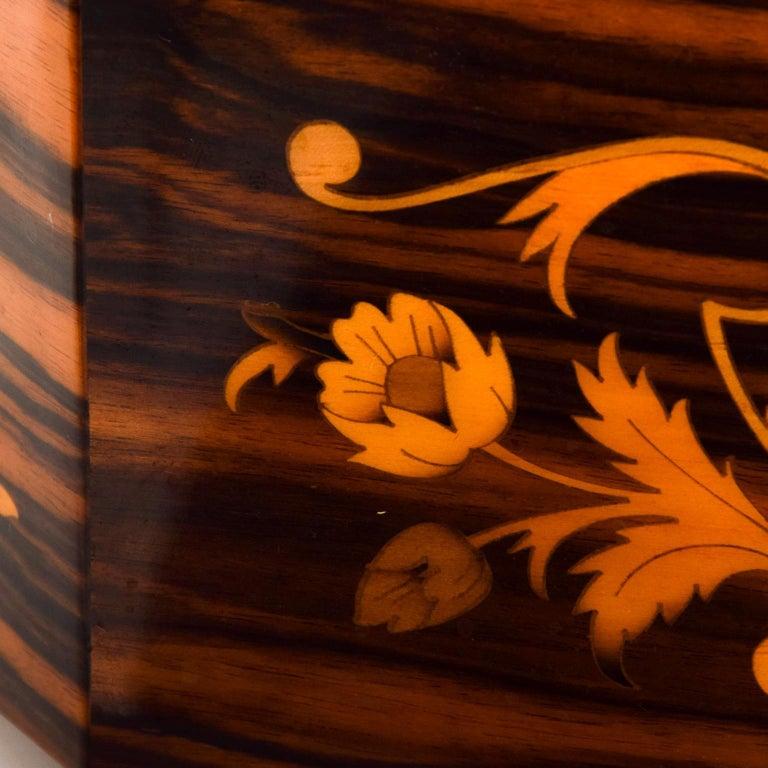 Italian Jewelry Decorative Wood Box 1
