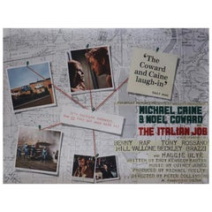 """The Italian Job,"" 1969 Poster"