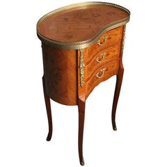 Italian Kidney Shaped Side Table