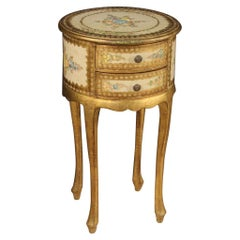 Italian Lacquered, Gilded and Painted Coffee Table, 20th Century
