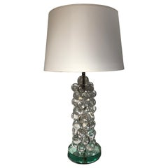 Italian Lamp Made of Glass Beads, circa 1990s