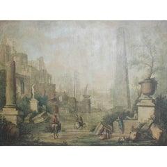 Italian Landscape Painting, 18th Century