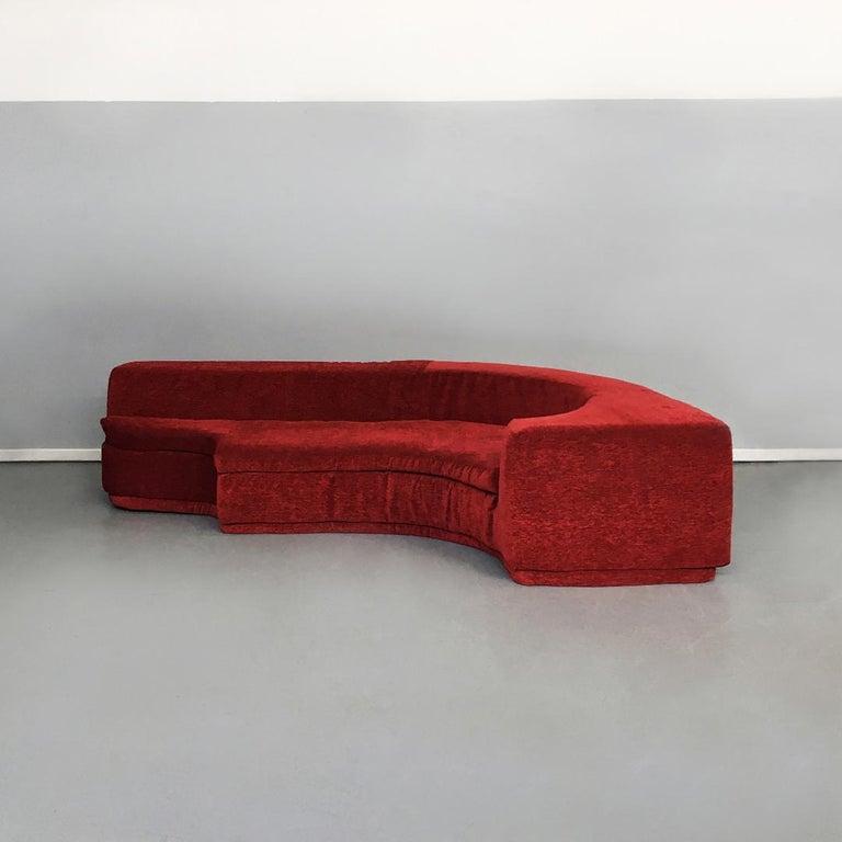 Mid-20th Century Italian Lara Modular Sofa by Pamio, Massari and Toso for Stilwood, 1968 For Sale