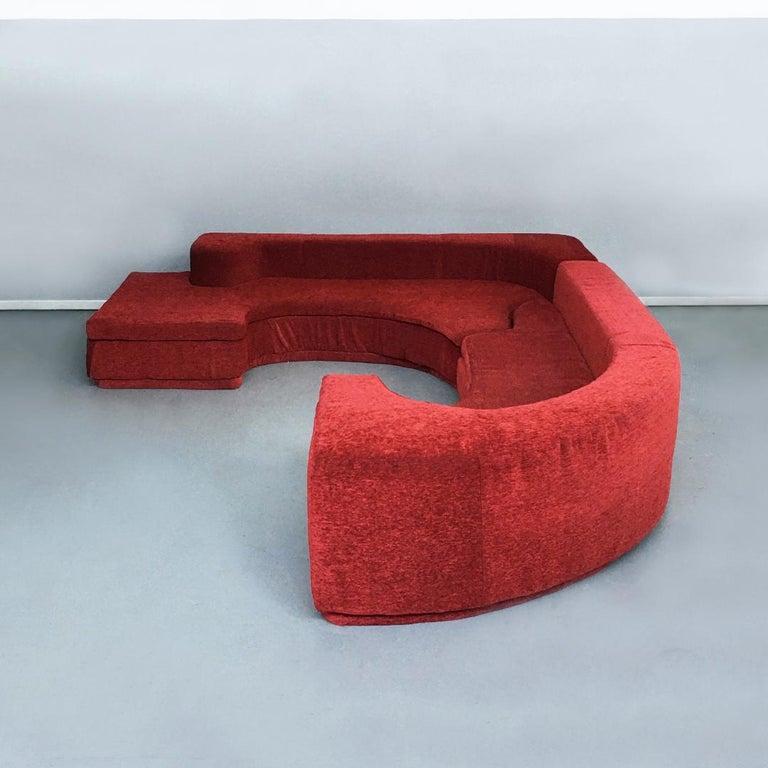 Italian Lara Modular Sofa by Pamio, Massari and Toso for Stilwood, 1968 For Sale 1