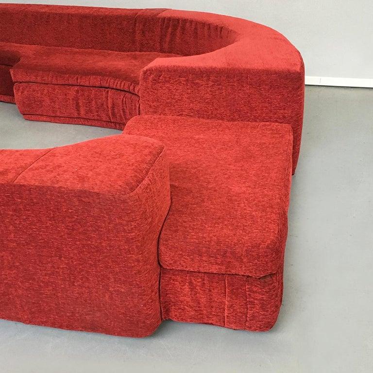 Italian Lara Modular Sofa by Pamio, Massari and Toso for Stilwood, 1968 For Sale 2