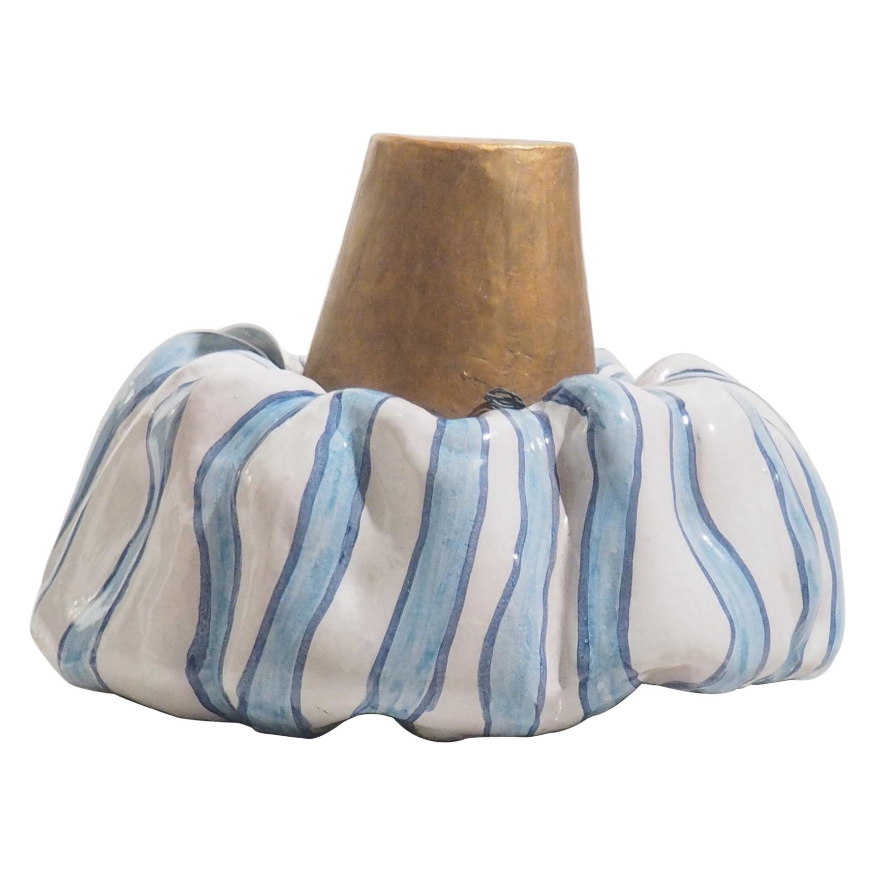 "Italian Large Ceramic ""Saraceno"" Hand Made in Ischia Island, Italy, XXI Century"