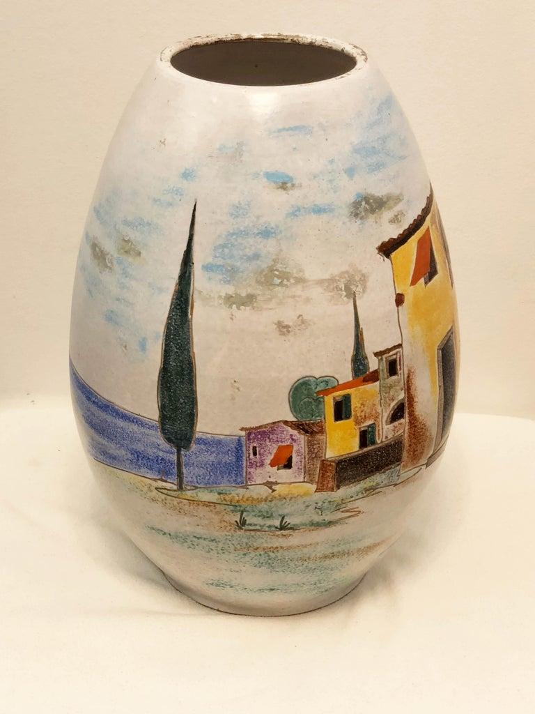 Italian Large Floor Vase For Sale 1