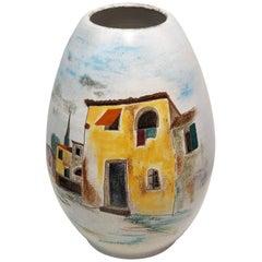 Italian Large Floor Vase
