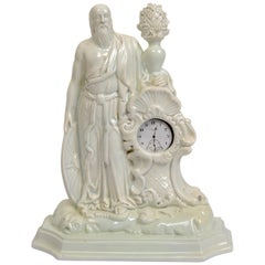 Italian, Late 18th Century Watch Holder with Father Time