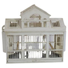 Italian Late 19th Century Architectural Birdcage