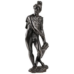 Italian Late Renaissance Bronze Perseus, First Third of the 17th Century