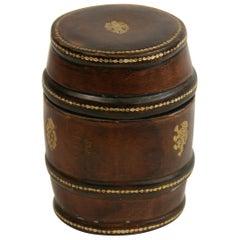 Italian Leather Storage Case