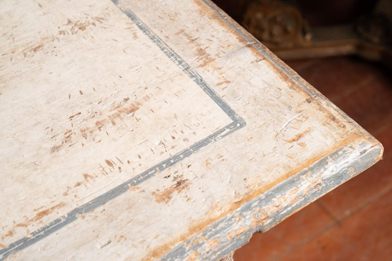 Italian Library Table Desk For Sale 1
