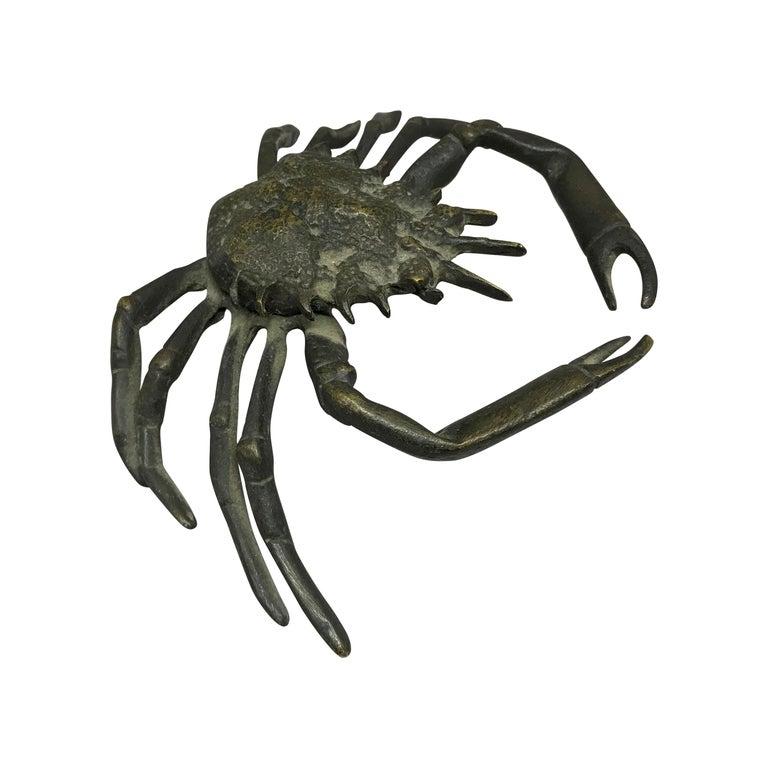 Italian Life-Size Bronze Crab For Sale