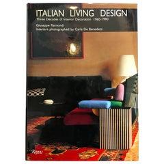 """Italian Living Design"" Book, Guiseppe Raimondi for Rizzoli, 1990"