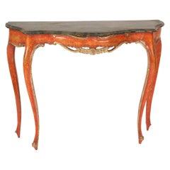 Italian Louis XV Style Console Table