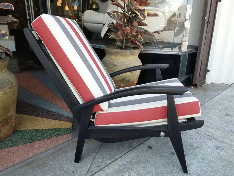 Mid-Century Modern Italian Lounge Chairs for the Sorrento Hotel in Capri For Sale